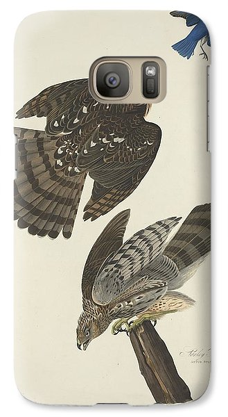 Stanley Hawk Galaxy S7 Case by Dreyer Wildlife Print Collections