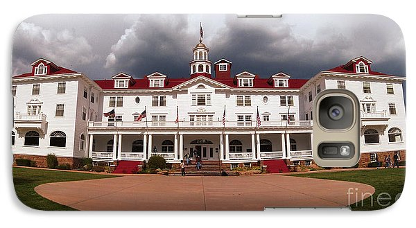 Galaxy Case featuring the photograph Stanley Hotel - Estes Park Colorado by Donna Greene