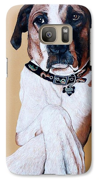 Galaxy Case featuring the painting Stanley by Tom Roderick