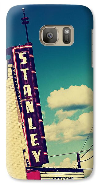 Galaxy Case featuring the photograph Stanley by Trish Mistric