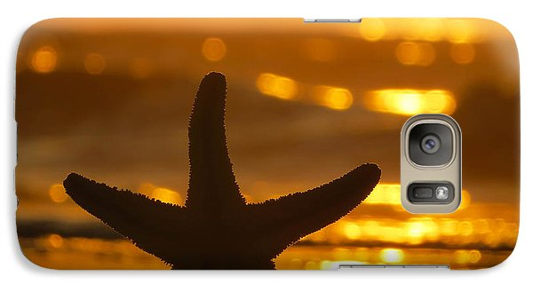 Galaxy Case featuring the photograph Star Bokeh by Nikki McInnes