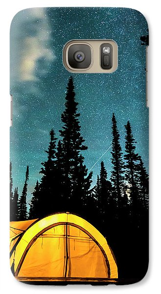 Galaxy S7 Case featuring the photograph Star Camping by James BO Insogna