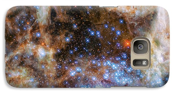Galaxy Case featuring the photograph Star Cluster R136 by Marco Oliveira