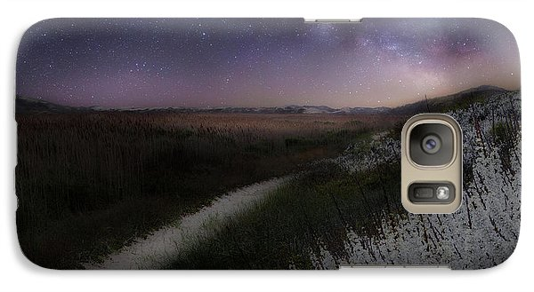 Galaxy Case featuring the photograph Star Flowers by Bill Wakeley