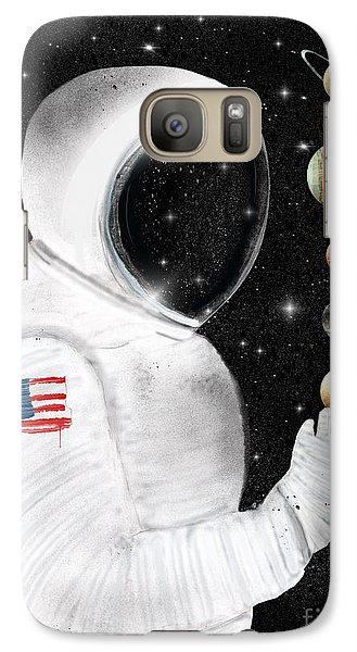 Galaxy Case featuring the painting Star Man by Bri B