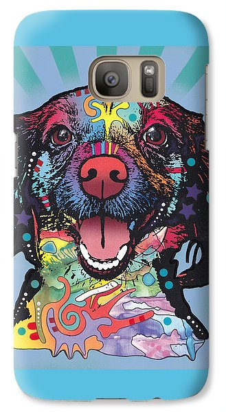 Galaxy Case featuring the painting Star Of The Show by Dean Russo
