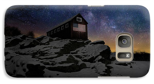 Galaxy S7 Case featuring the photograph Star Spangled Banner by Bill Wakeley