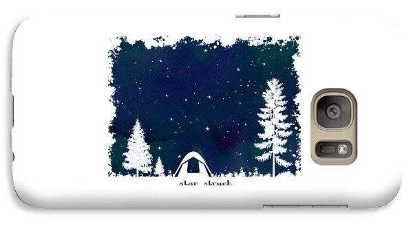 Galaxy Case featuring the digital art Star Struck by Heather Applegate