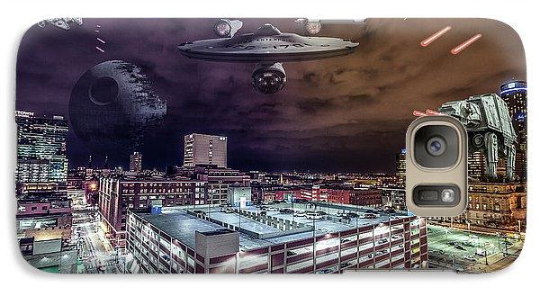 Galaxy Case featuring the photograph Star Wars Detroit by Nicholas Grunas