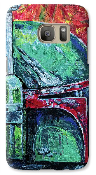 Galaxy Case featuring the painting Star Wars Helmet Series - Boba Fett by Aaron Spong
