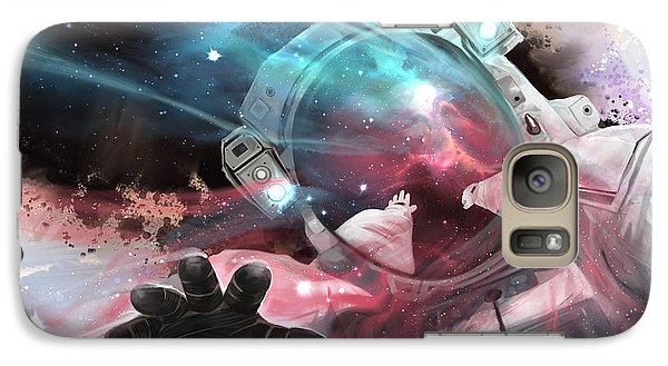 Astronaut Galaxy S7 Case - Stardust by Steve Goad