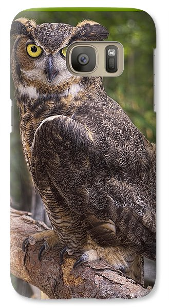 Galaxy Case featuring the photograph Stare Me Down Baby by Cheri McEachin