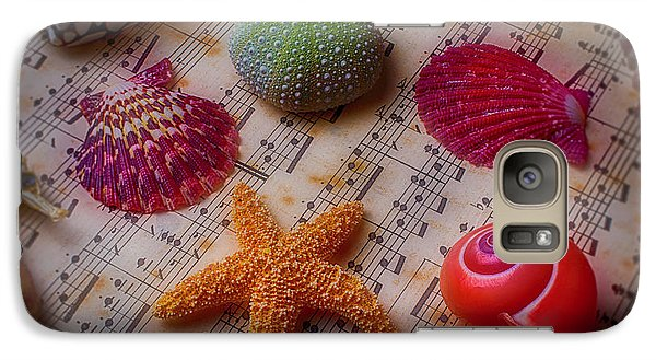 Starfish On Sheet Music Galaxy S7 Case