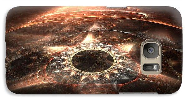 Galaxy Case featuring the digital art Stargate by Richard Ortolano