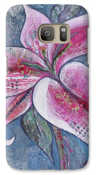 Lily Galaxy S7 Case - Stargazer I by Shadia Derbyshire