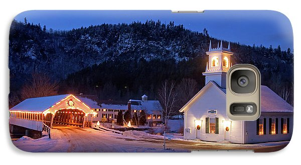 Galaxy Case featuring the photograph Stark New Hampshire by Robert Clifford