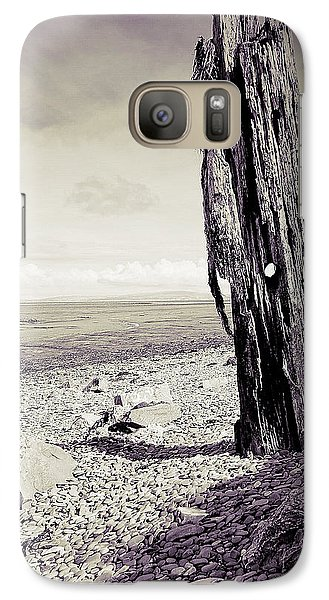 Galaxy Case featuring the photograph Stark Reality by Keith Elliott