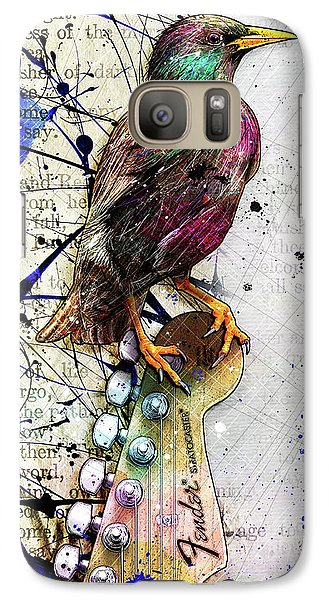 Starling On A Strat Galaxy S7 Case by Gary Bodnar