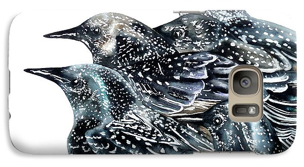 Starlings Galaxy S7 Case by Marie Burke