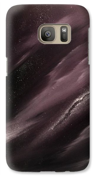 Galaxy Case featuring the painting Starry Night 3 by Scott Wilmot