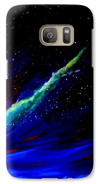 Galaxy Case featuring the painting Starry Night by Scott Wilmot