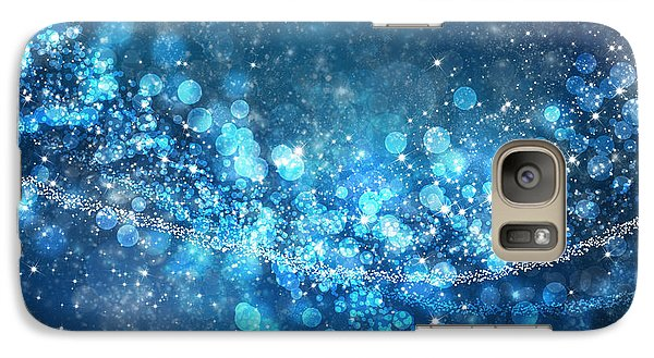 Stars And Bokeh Galaxy S7 Case by Setsiri Silapasuwanchai