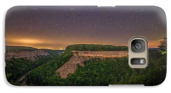 Galaxy Case featuring the photograph Stars Over Great Bend by Mark Papke