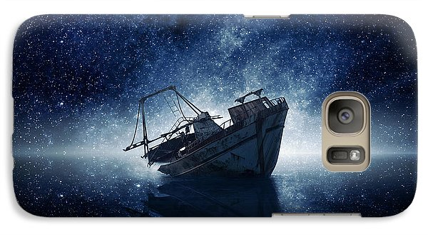Space Ships Galaxy S7 Case - Stars by Zoltan Toth
