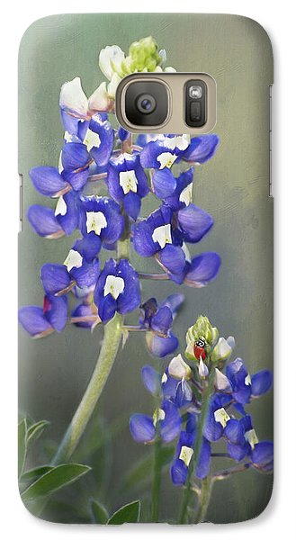 Galaxy Case featuring the photograph State Flower Of Texas by David and Carol Kelly
