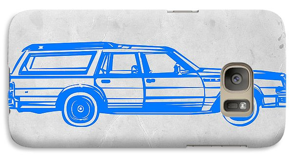 Station Wagon Galaxy S7 Case by Naxart Studio