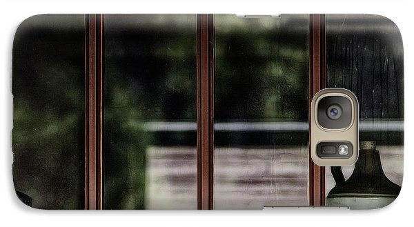 Galaxy Case featuring the photograph Station Window by Brad Allen Fine Art