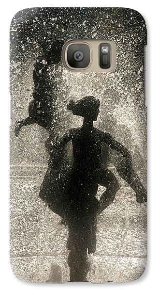 Galaxy Case featuring the photograph Statue In Rostock, Germany by Jeff Burgess
