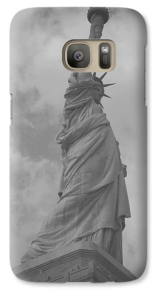Galaxy Case featuring the painting Statue Of Liberty by Louise Fahy