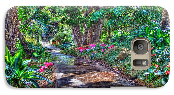 Galaxy Case featuring the photograph Stay On Your Path by TC Morgan
