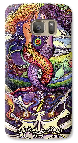 Galaxy Case featuring the painting Steal Your Mermaids by David Sockrider