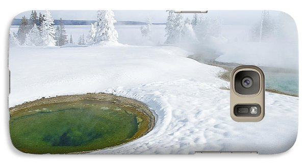Steam And Snow Galaxy S7 Case by Gary Lengyel