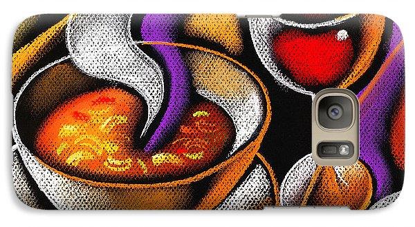 Steaming Supper Galaxy S7 Case by Leon Zernitsky