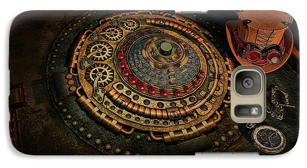 Galaxy Case featuring the photograph Steampunk by Louis Ferreira