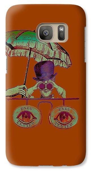 Steampunk T Shirt Design Galaxy S7 Case