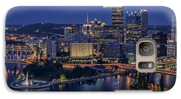 Steel City Glow Galaxy S7 Case