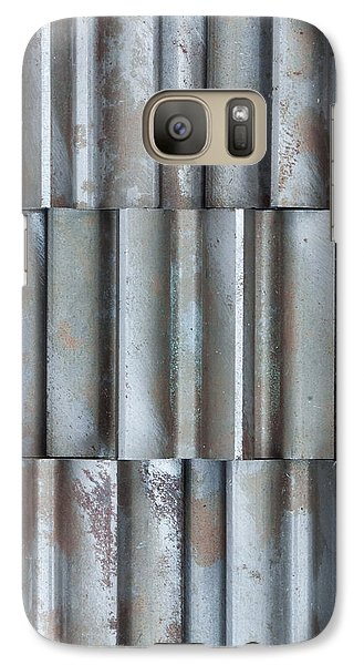 Galaxy Case featuring the photograph Steel by Jim Hughes