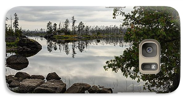 Galaxy Case featuring the photograph Steely Day by Larry Ricker