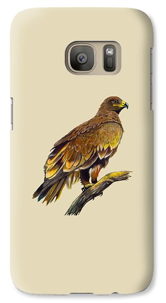 Galaxy Case featuring the painting Steppe Eagle by Anthony Mwangi