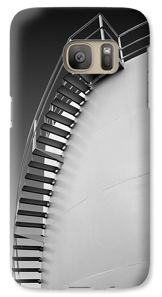 Galaxy Case featuring the photograph Stepping Up by Joe Bonita