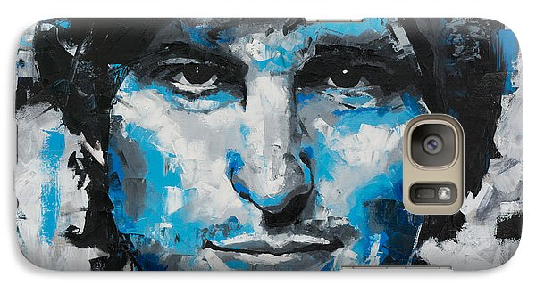 Galaxy Case featuring the painting Steve Jobs II by Richard Day