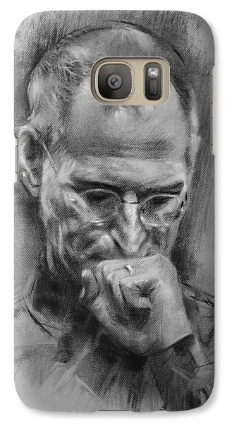 Apple Galaxy S7 Case - Steve Jobs by Ylli Haruni
