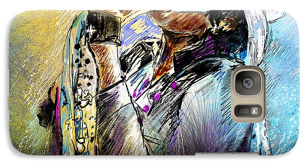 Steven Tyler 01  Aerosmith Galaxy S7 Case