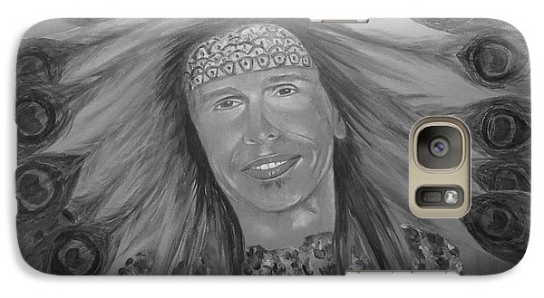 Galaxy Case featuring the painting Steven Tyler Art by Jeepee Aero
