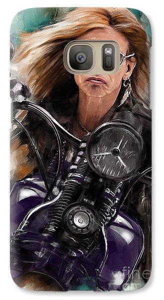 Steven Tyler On A Bike Galaxy S7 Case