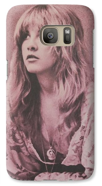 Music Galaxy S7 Case - Stevie Nicks  by Donna Wilson
